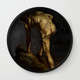 "Théodore Géricault ""Saint Lucas"" Wall Clock"