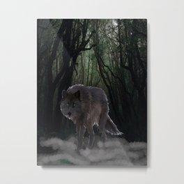 Fenris Wolf Metal Print