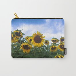 Nodding Sunflowers Carry-All Pouch