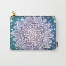 Peacock Mandala Carry-All Pouch