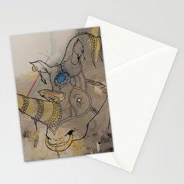 Embellished Rhino Stationery Cards