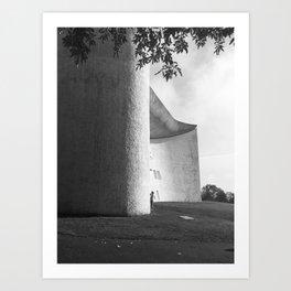Ronchamp Chapel 002 Art Print
