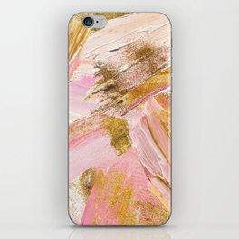 Blush Glitz iPhone Skin