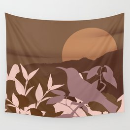 Brown Landscape Wall Tapestry