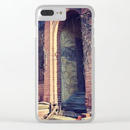 Vine Takeover at the Abandoned Factory Clear iPhone Case