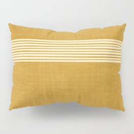 Band in Gold Pillow Sham