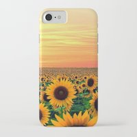 sunflower iPhone & iPod Cases featuring Sunflower by Don't Be A Dick