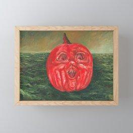 Jack o' Lantern Sea Framed Mini Art Print