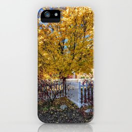 Fall is here - Glenwood Springs, CO iPhone Case