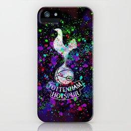 Tottenham Hotspur Watercolor iPhone Case