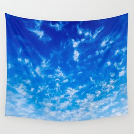 Whispy Clouds Wall Tapestry
