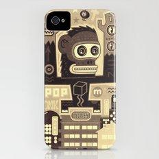 Pop Monk vintage Slim Case iPhone (4, 4s)