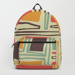 Whimsical abstract pattern design Backpack