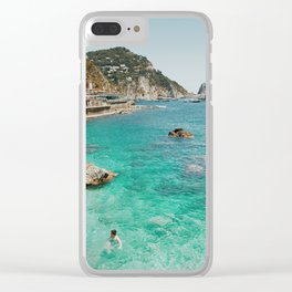 Swimmers, Amalfi Clear iPhone Case