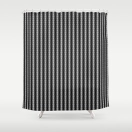 Abstract Tribal Zebra Pattern Shower Curtain