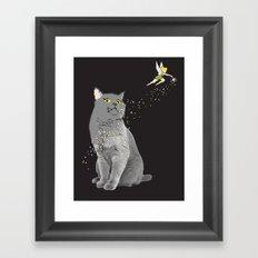 pixel dust Framed Art Print
