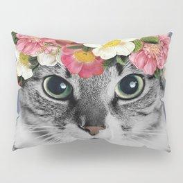 Hippie Cat 1 Pillow Sham