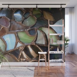 Stained Glass Enamel Wall Mural