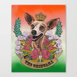 The Chihuaha Canvas Print
