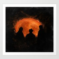 top gear Art Prints featuring Night in Botswana - Top Gear by not-the-stig
