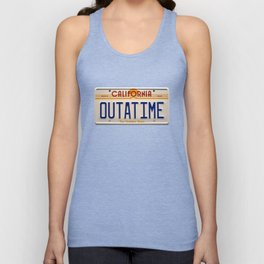 California Out A Time Unisex Tank Top