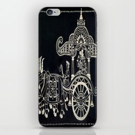 'The Chariot' Wood Work iPhone Skin