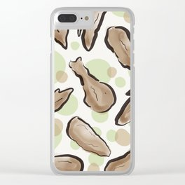 Fried chicken. Clear iPhone Case