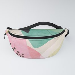 mid centruy organic shapes spring 21 /4 Fanny Pack