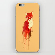The fox, the forest spirit iPhone Skin