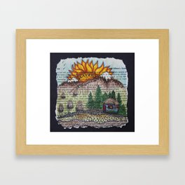 New Sunrise Framed Art Print