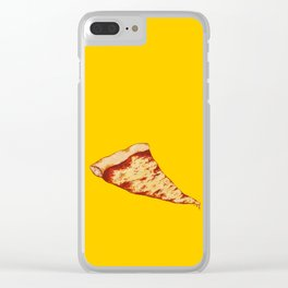 Pizza Time Clear iPhone Case