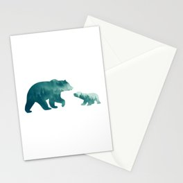 Bears Forest Stationery Cards