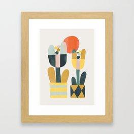 Two flowers Framed Art Print