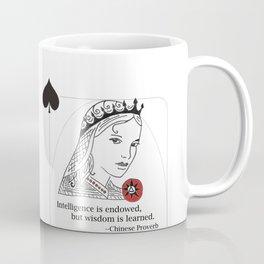 Queen of Spades Coffee Mug