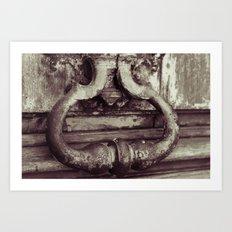 Heaven's door Art Print