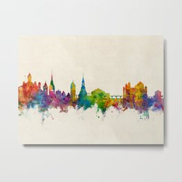 Schaffhausen Switzerland Skyline Metal Print