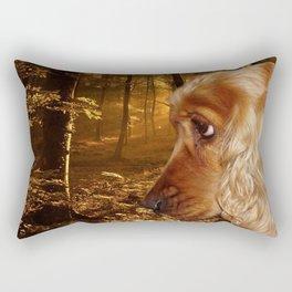 Dog Cocker Spaniel Rectangular Pillow