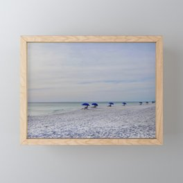 Serene Seagrove Beach Framed Mini Art Print