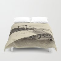 airplane Duvet Covers featuring Airplane by DistinctyDesign