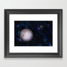View From The Dark Side Framed Art Print