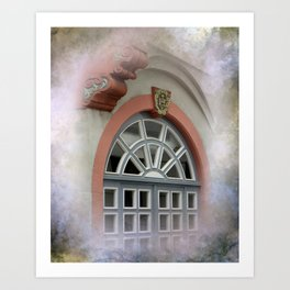 window -3- Art Print