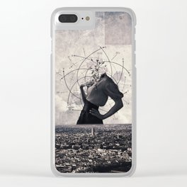 Sequence Clear iPhone Case