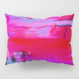 Pink Storm Pillow Sham