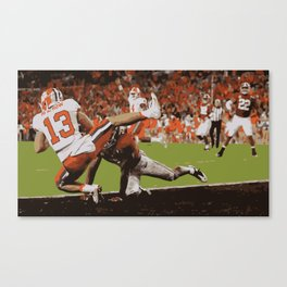Clemson is Here Canvas Print