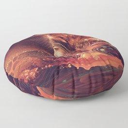 Shadow of a Thousand Lives - Visionary - Manafold Art Floor Pillow