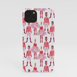 Nutcracker Ballet - White iPhone Case