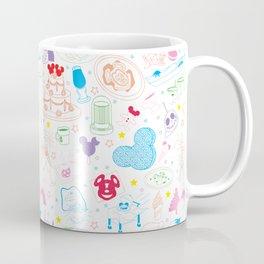 Tasting the Magic - White Coffee Mug