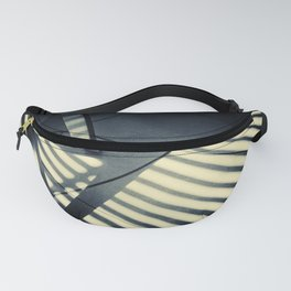 Shadow Slit Abstract Fanny Pack