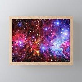 Fox Tale Galaxy Framed Mini Art Print