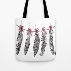 Feather Bunting Tote Bag